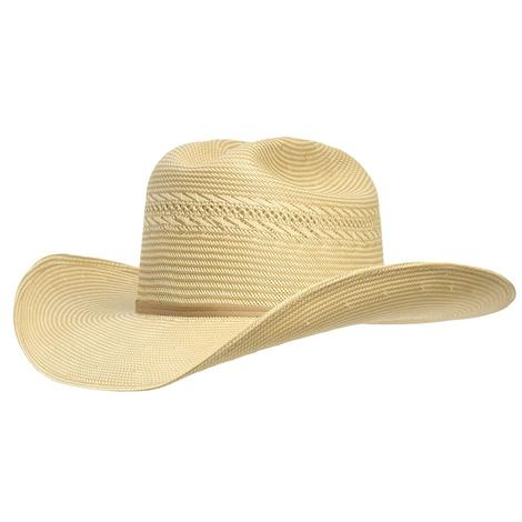 Resistol 20X Blakeo w/Drilex 4.25in Brim Precreased Straw Hat