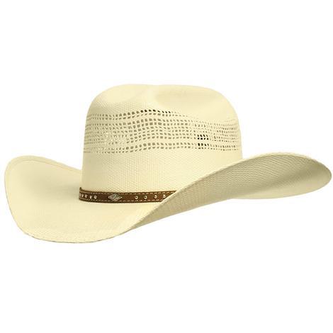 Resistol Travis Vented Bangora Western Cowboy Hat