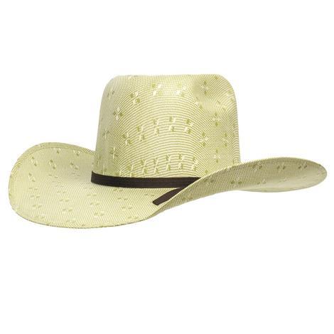 b1de9064d5fd8 Resistol Hooey Pecos Natural Straw Western Cowboy Hat