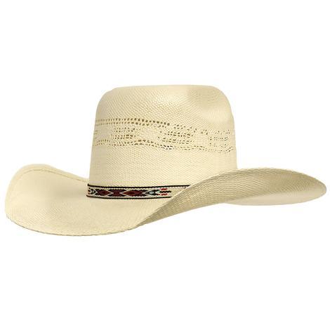 Resistol Young Gun 4.25in Brim Bangora Straw Hat