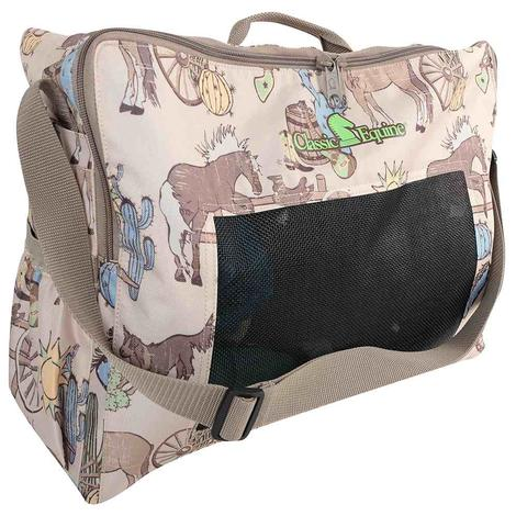Classic Equine Boot Accessory Tote Prints 2018