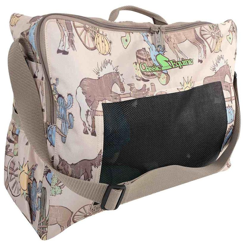 Classic Equine Boot Accessory Tote Prints 2018 FRONTIER