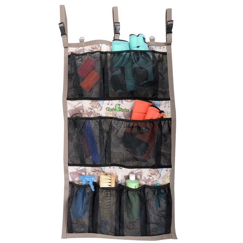 Classic Equine Hanging Groom Case in Prints 2018 FRONTIER