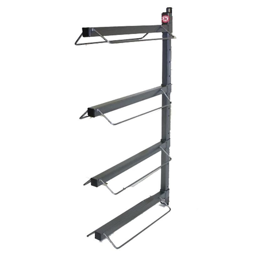 4 Arm Wall Mount Saddle Rack