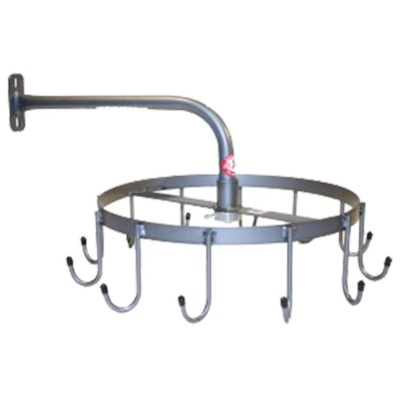 Equi- Racks Rotary 12 J Hook Headstall Rack
