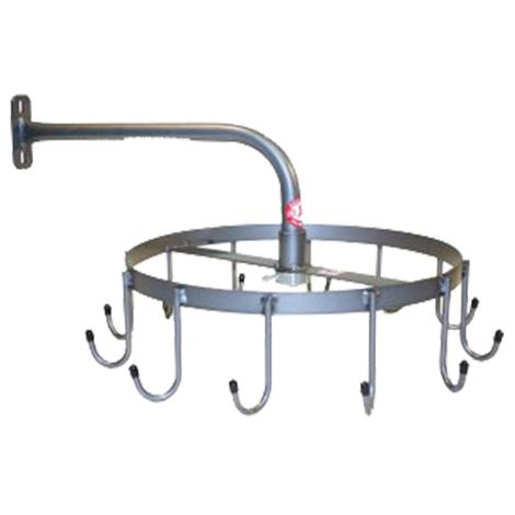 Equi-Racks Rotary 12 J Hook Headstall Rack