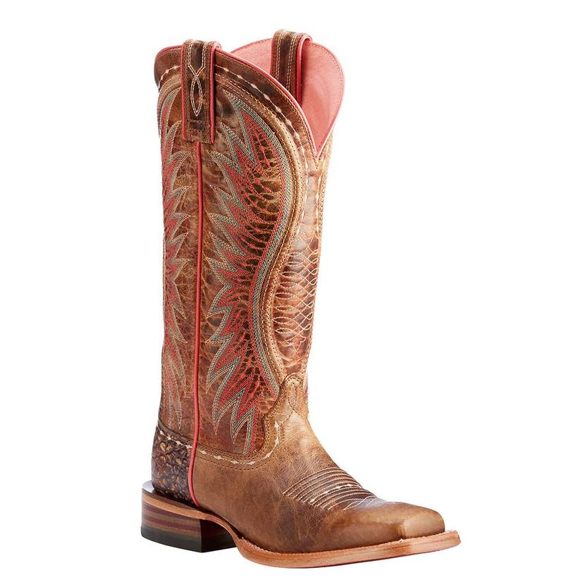 Ariat Womens Vaquera Dusted Wheat Western Boots