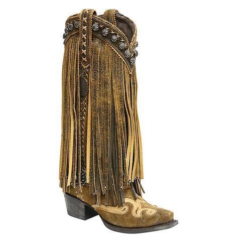 Double D Womens Prescott Western Boots