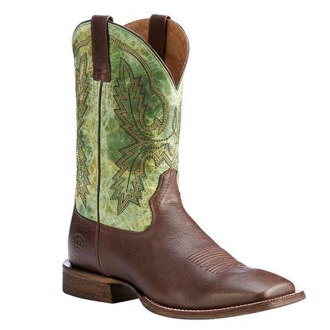 Ariat Mens Dark Brown Circuit Dayworker Western Boots
