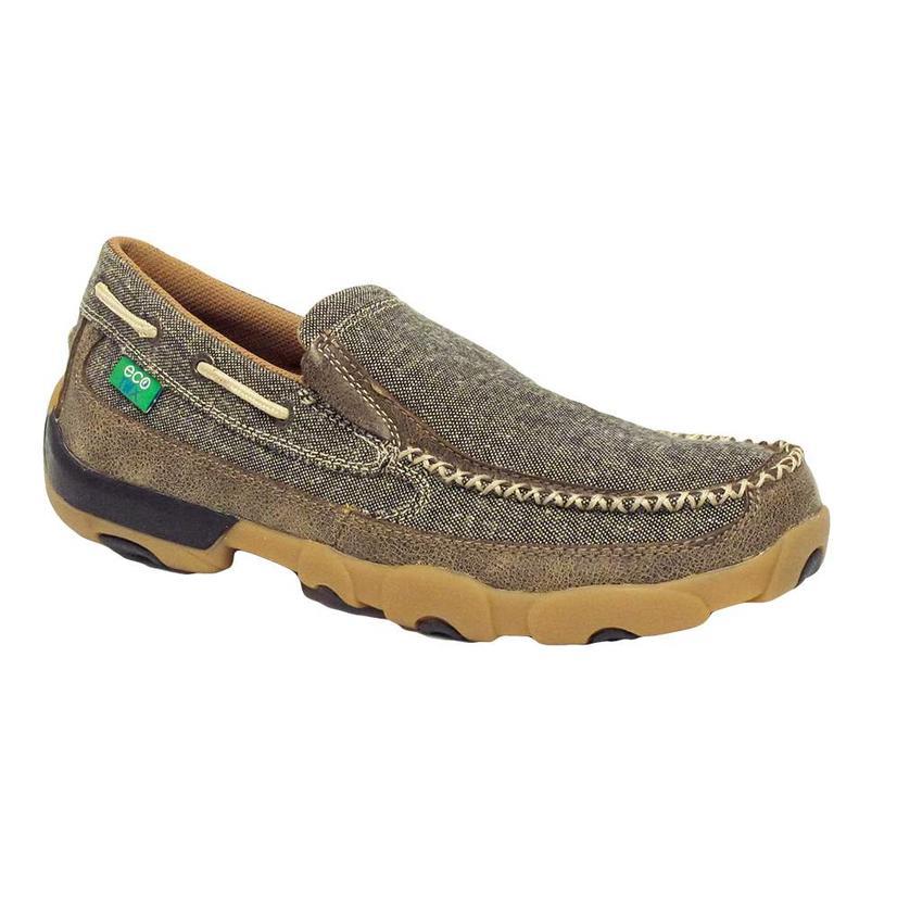 Twisted X Eco Twist Grey Slip On Shoes