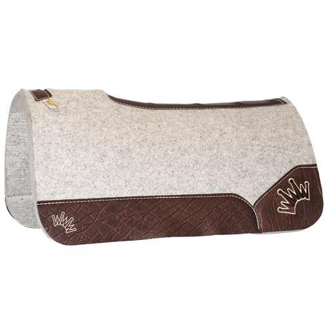 Kush Chocolate Wool Saddle Pad 1x32x32