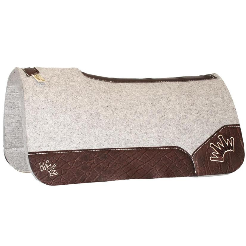 Kush Chocolate Wool Saddle Pad 1.25x32x32