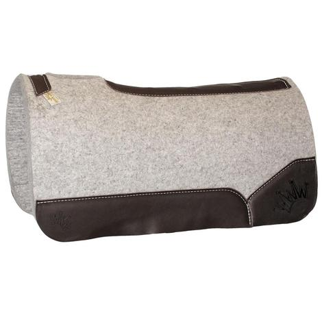 Kush Brown Wool Saddle Pad 1.25x32x32
