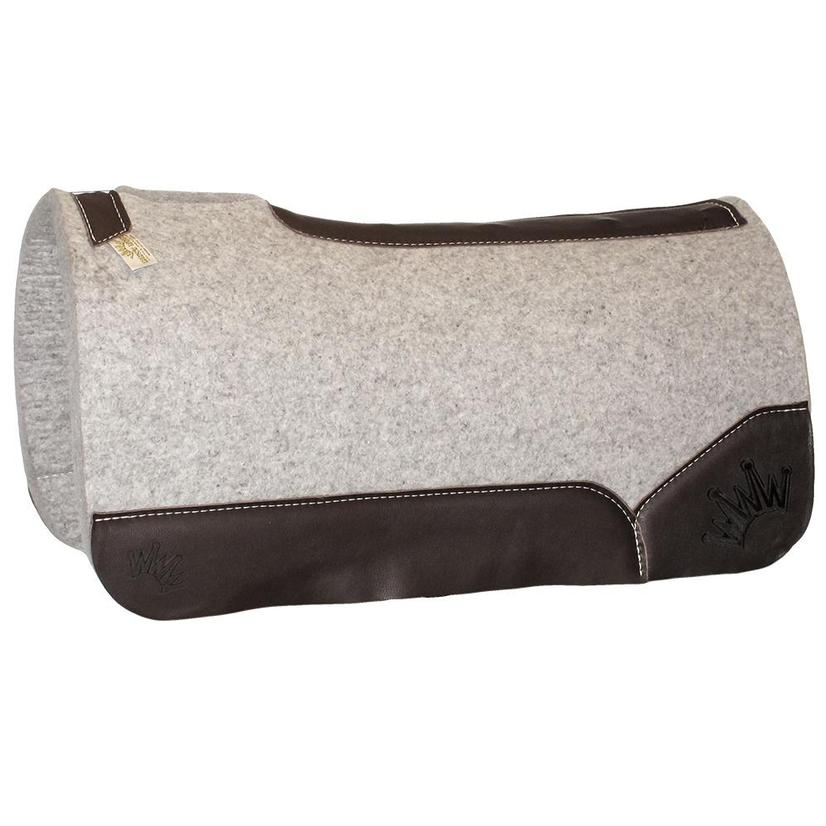 Kush Brown Wool Saddle Pad .75x30x30