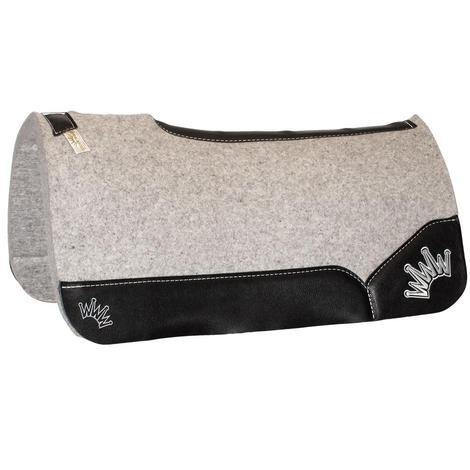 Kush Black Wool Saddle Pad 1.25x32x32