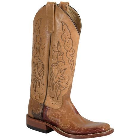 Anderson Bean Womens Butterscotch Shaft Western Boots