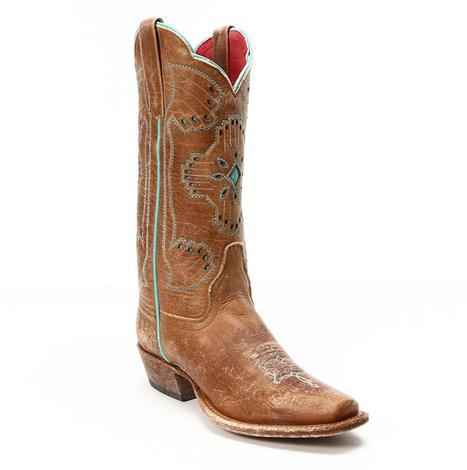 Macie Bean Womens Kachina Western Boots