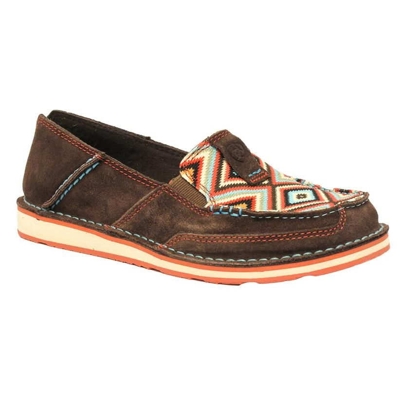 Ariat Womens Coffee Bean Aztec Cruiser