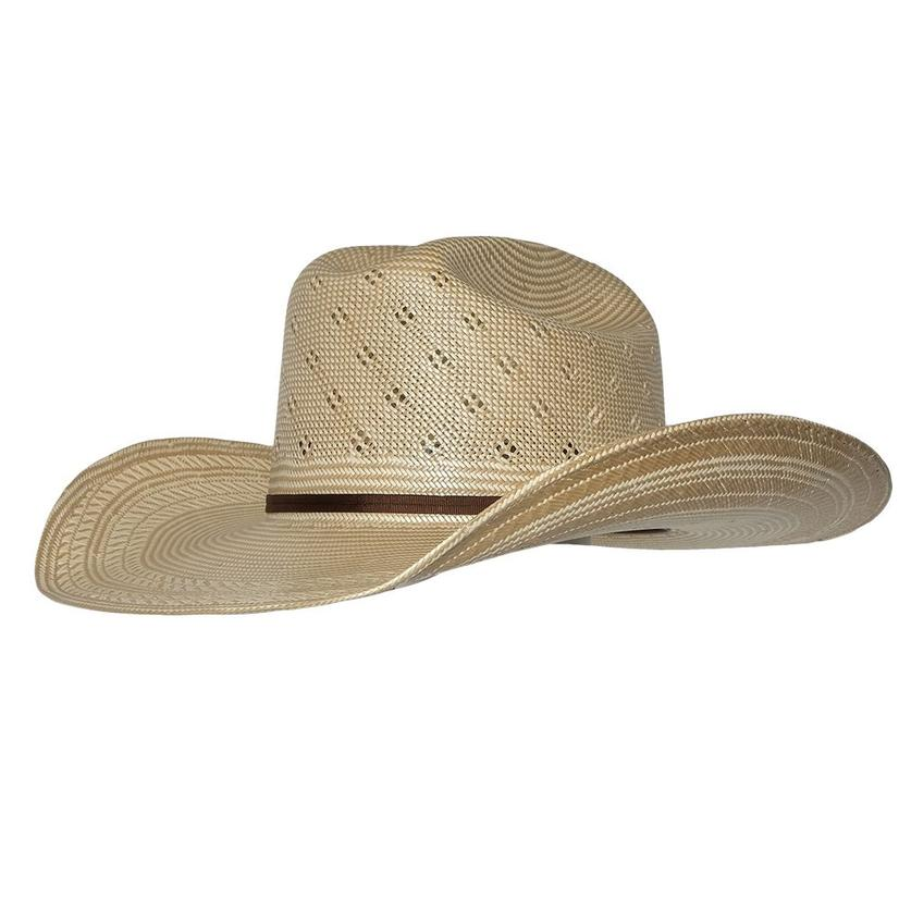 Resistol Conley 4.5 Natural Tan W/Drilex Precreased Straw Hat