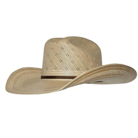 Resistol Conley 4.25 Natural Tan w/Drilex Precreased Straw Hat