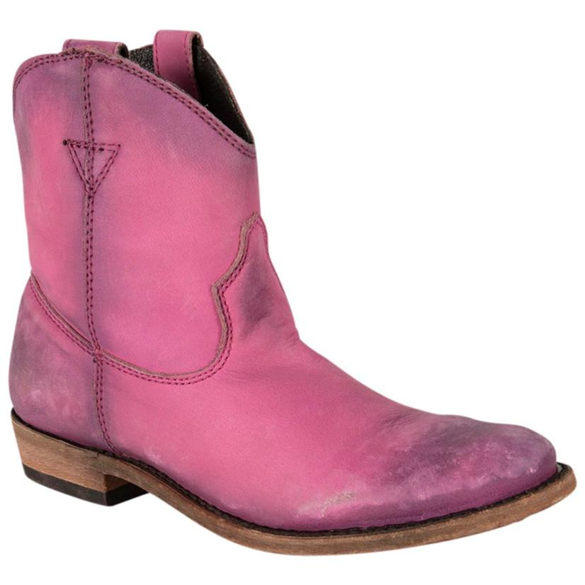 Liberty Black Womens Vegas Round Toe Cowgirl Boots