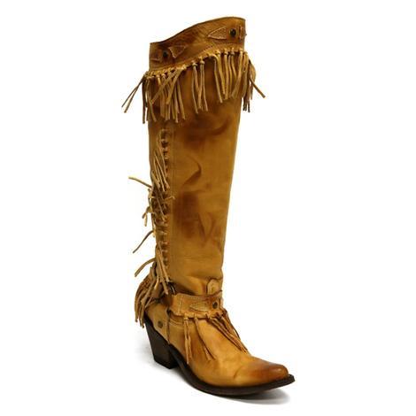 Old Gringo Womens Nikka Beige Western Boot