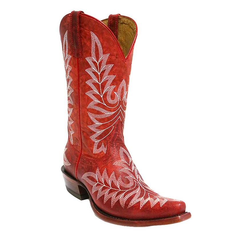 Ariat Womens Brooklyn Revel Red Western Boots