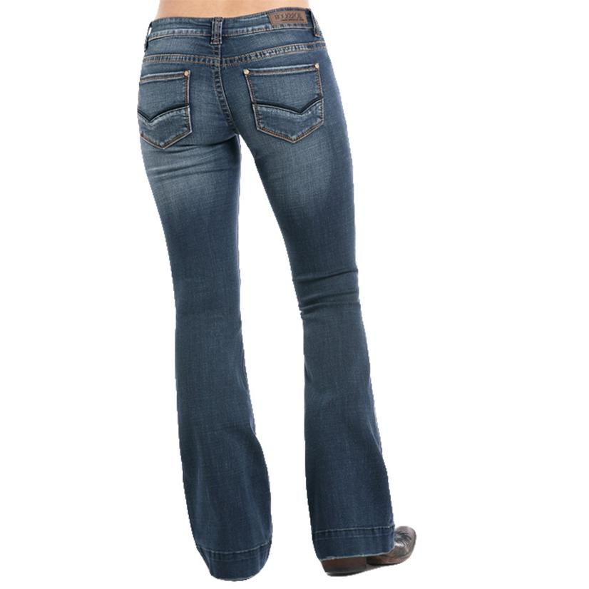 Rock And Roll Cowgirl Womens Vintage Trouser Jeans