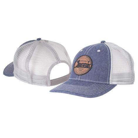 Classic Rope Denim Patch Meshback Cap