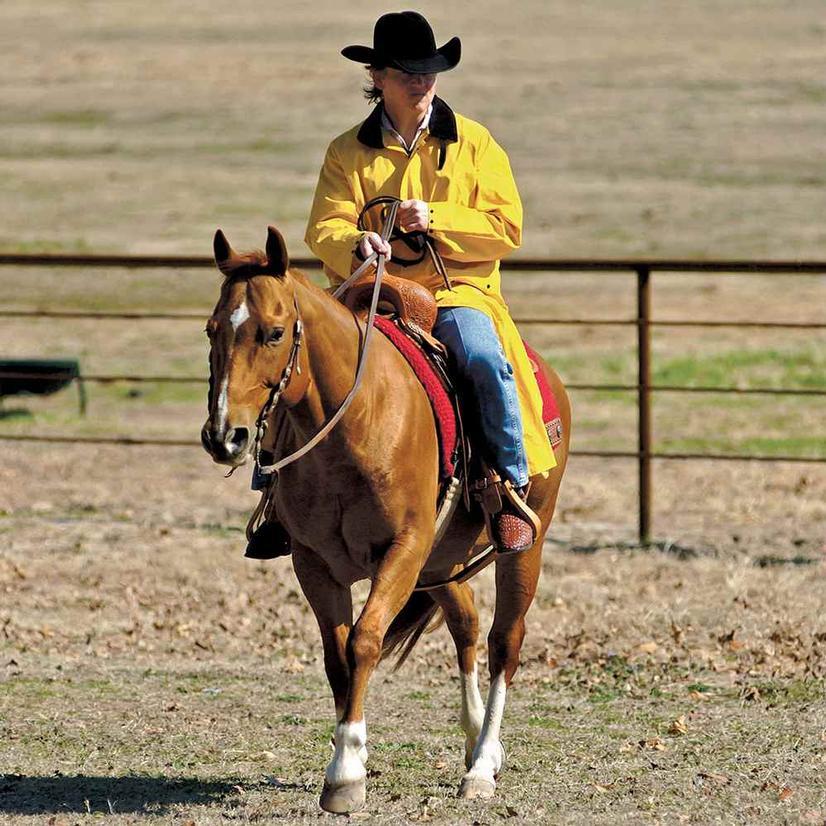 M & F Western Saddle Slicker Rain Cloat