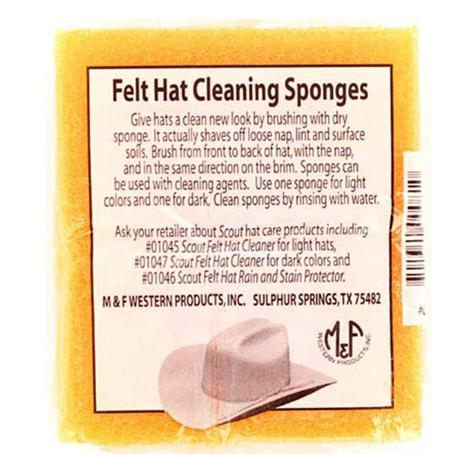 Felt Hat Cleaning Sponge