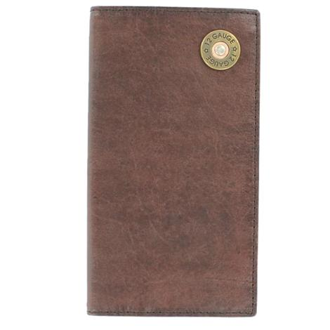 Nocona Mens Rodeo Shotgun Shell Western Wallet