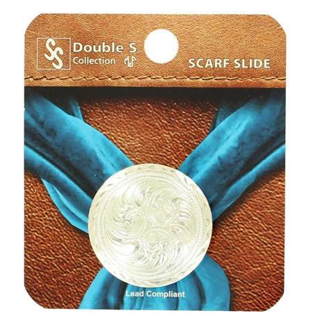 Silver Concho Scarf Slide