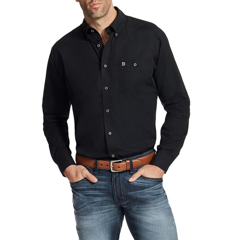 Ariat Mens Relentless Ace Long Sleeve Black Shirt