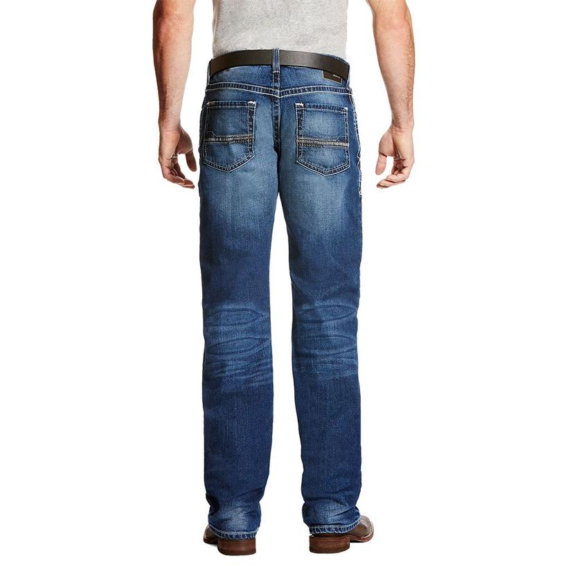 Ariat Mens M4 Dawson Canyon Wash Jeans