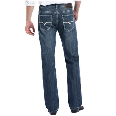 Rock and Roll Cowboy Double Barrel Straight Medium Vintage Jeans