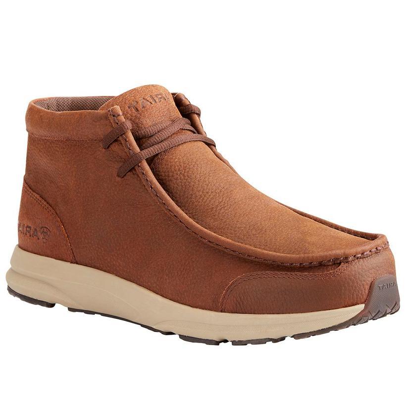 Ariat Mens Spitfire Aged Mahogany Shoe