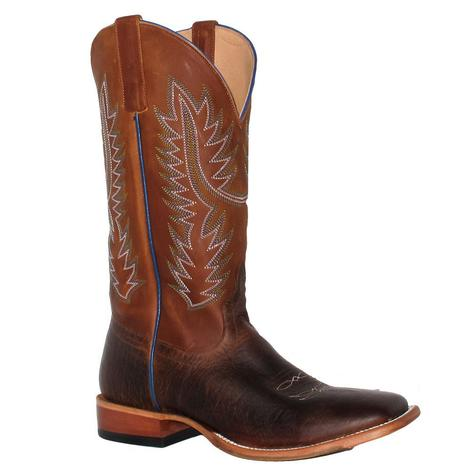 Horse Power Toasted Bison Hans Cognac Boots