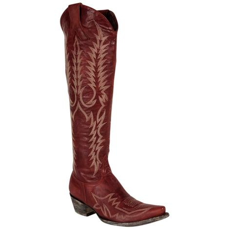 Old Gringo Womens Myra Bis Red Western Boots