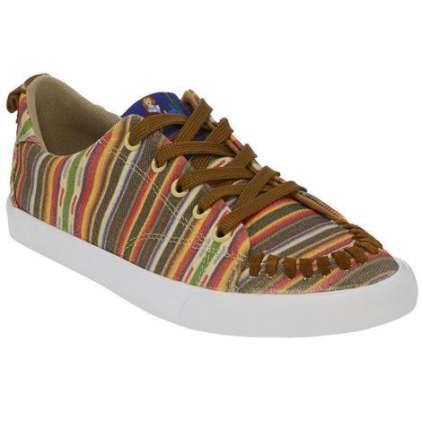 Reba by Justin Womens Arreba Serape Print Shoes
