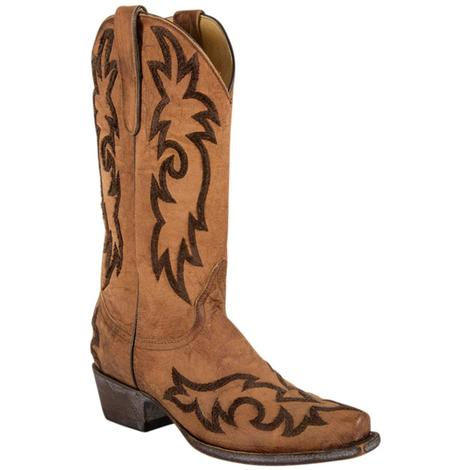 Old Gringo Womens Satillo Brass Leather Western Boots