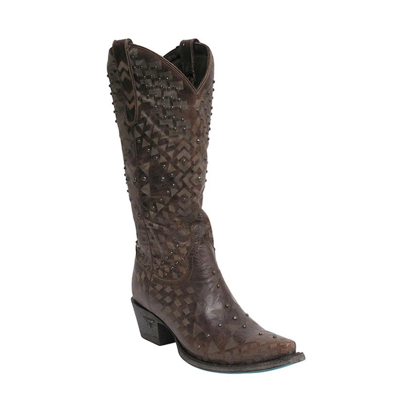 Lane Womens Sandy Western Boots