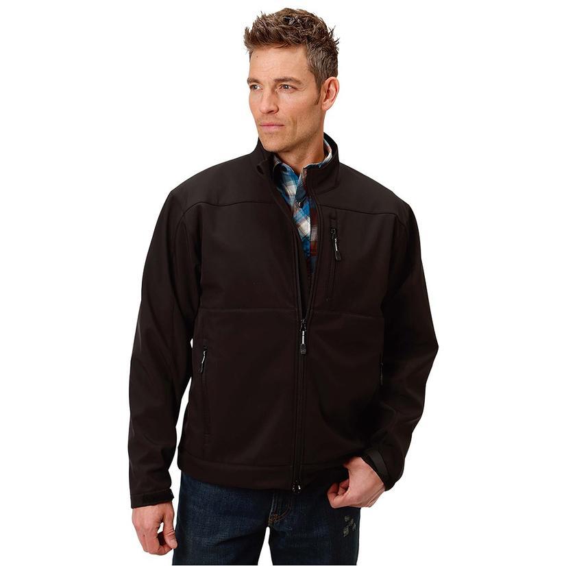 Roper Concealed Carry Tech Series Black Men's Zip Jacket