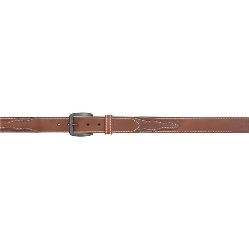 3d Belt Mens 1.5in Brown Leather Belt