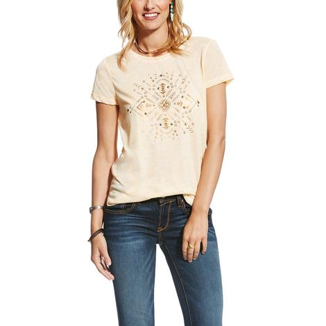 Ariat Womens On The Go Egret Top