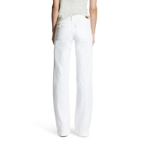 Ariat Womens White Dawn Trouser