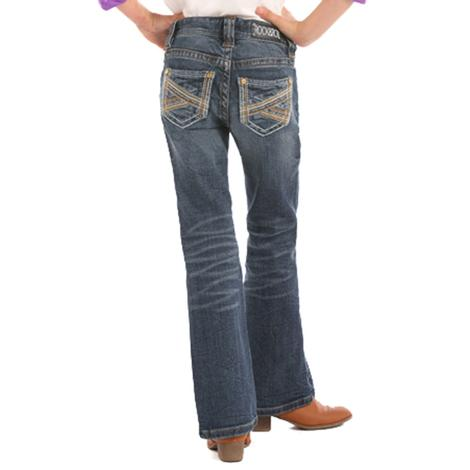 Rock & Roll Cowgirls Girls Boot Cut Western Jeans