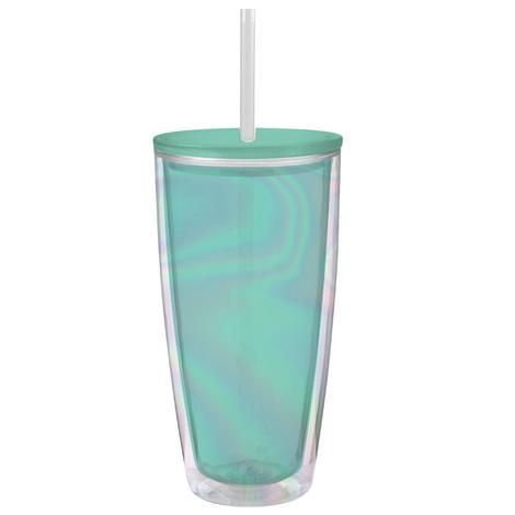 Blue Irid 22oz Travel Tumbler