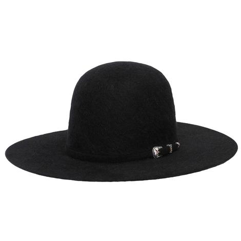 American Hat Company 20X Grizzly Black Long Oval Felt Cowboy Hat