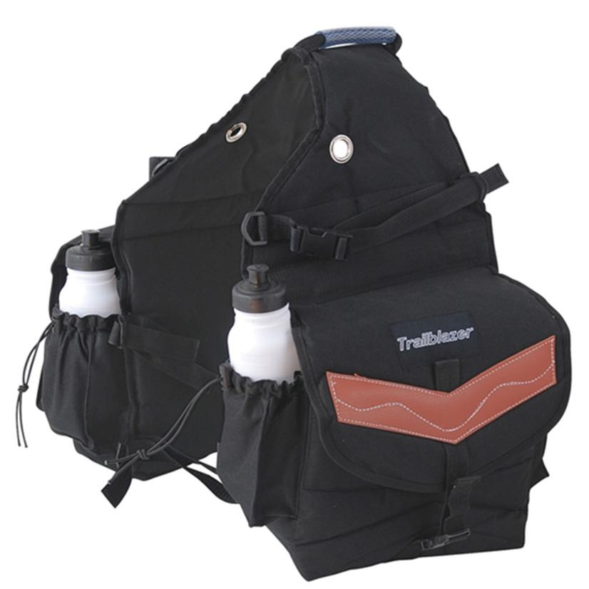 Deluxe 600d Poly Saddle Bag